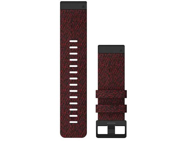 Garmin QuickFit Nylon Uhrenband 26mm für Fenix 6X red